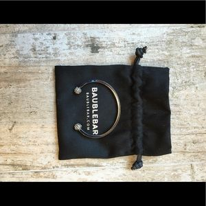 BaubleBar Dark Metallic Bangle Bracelet